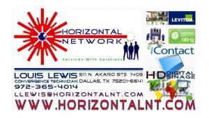 HorizontalNT Business Card Invitation