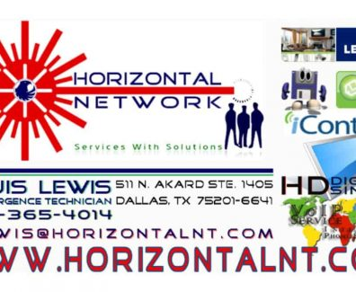 Horizontal Network Business Card