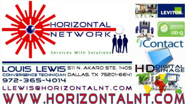 HORIZONTAL NETWORK – SERVICES WITH SOLUTIONS