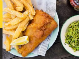Home Made Fish & Chips