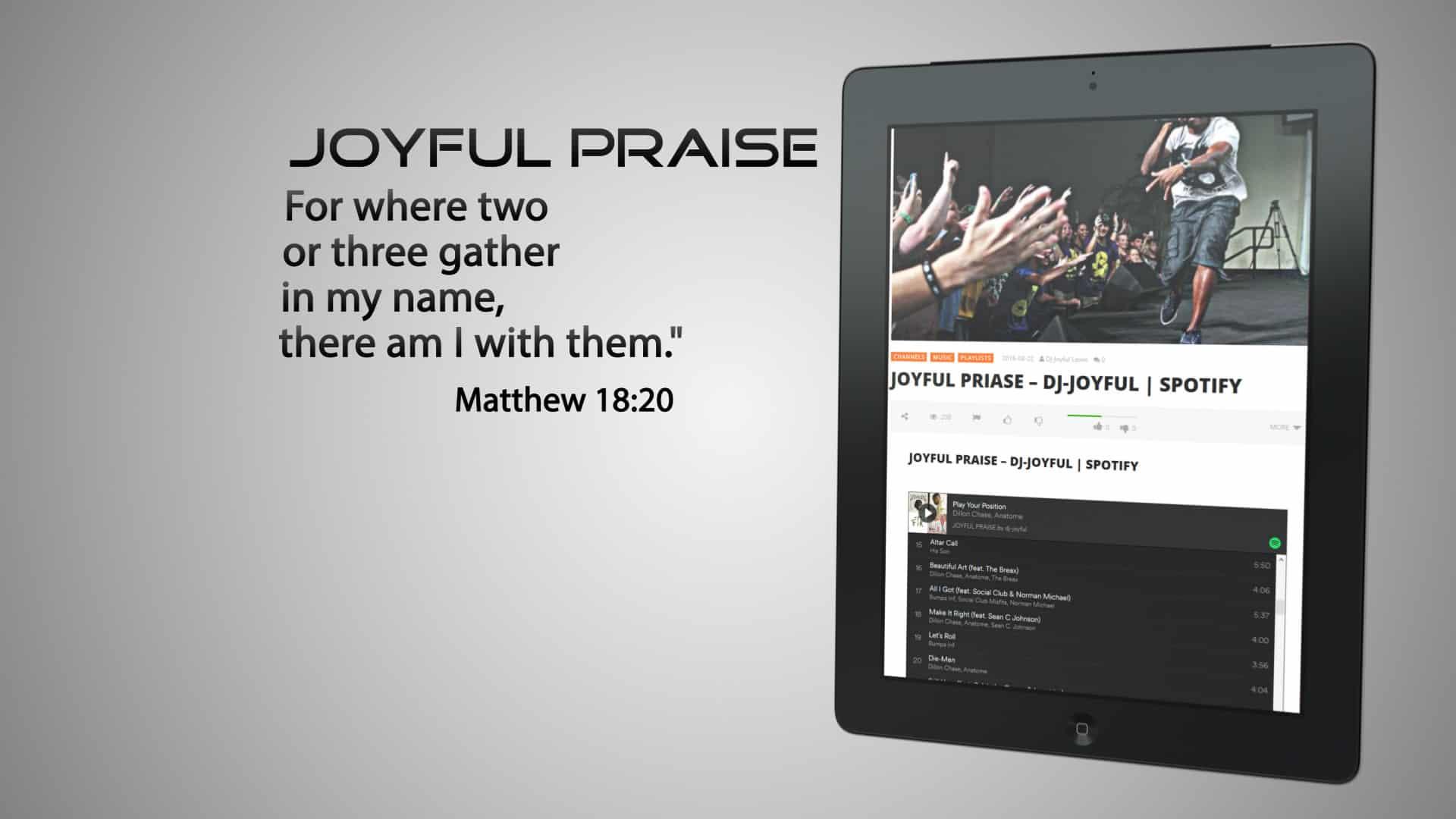 JOYFUL PRAISE – DJ-JOYFUL | SPOTIFY