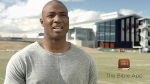 AMERICA'S TOP FOOTBALL PLAYERS USE THE BIBLE APP