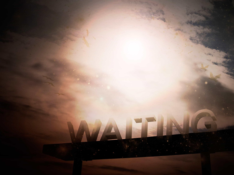 """WAIT"" IS NOBODY'S FAVORITE WORD |  HOWARD GOLDTHWAITE"