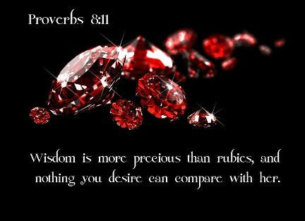 FOR WISDOM IS BETTER THAN RUBIES | PASTOR ROSA STIGGERS
