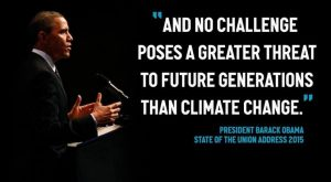 PRESIDENT OBAMA IS TAKING ACTION ON CLIMATE CHANGE