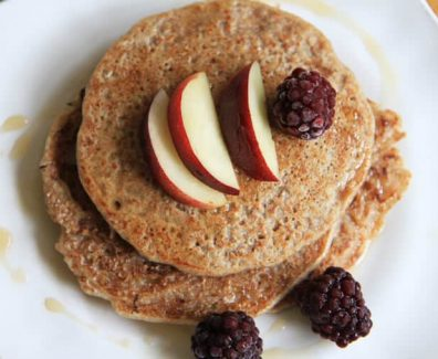 HEALTHY BUCKWHEAT PANCAKES RECIPE | KATIE PIX