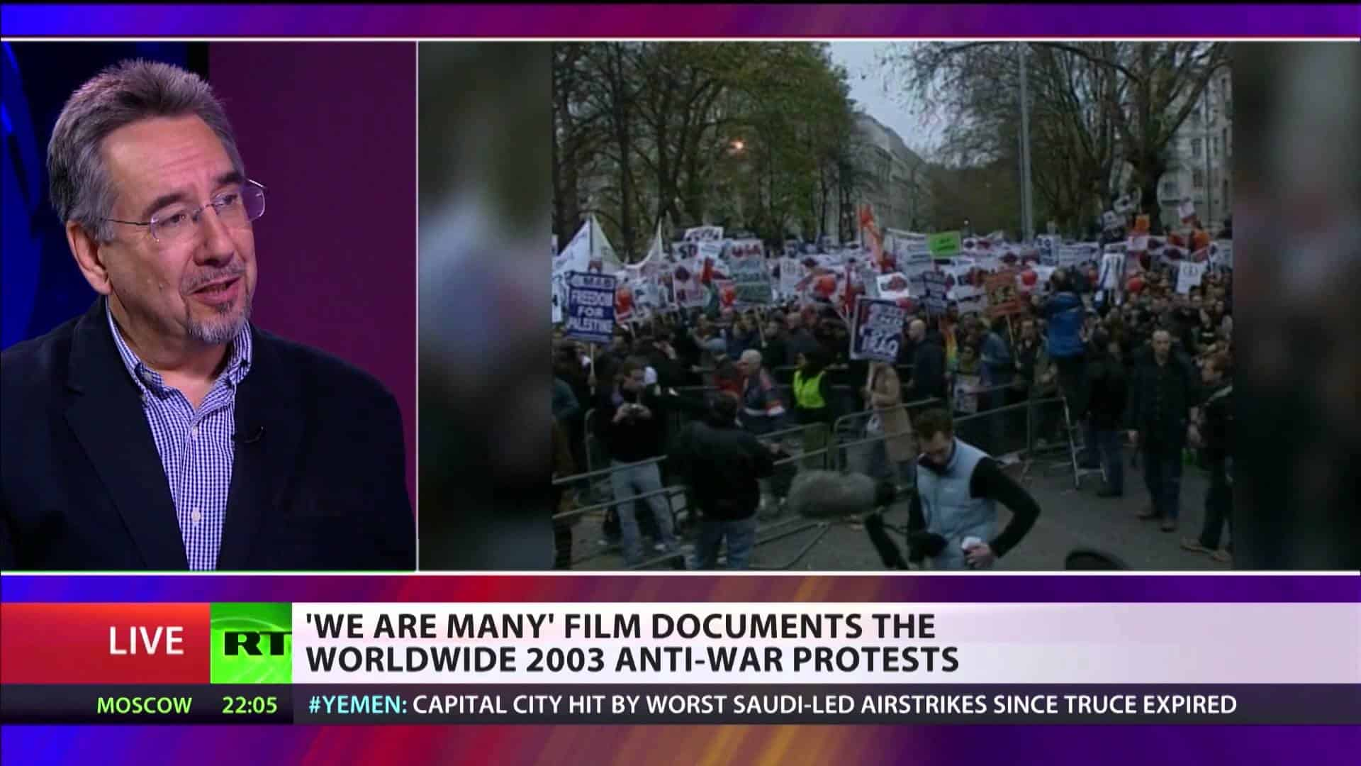 WE ARE MANY – BIGGEST CIVIL CAMPAIGN   RT UK