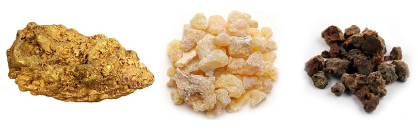 Gold Frankincense Myrrh