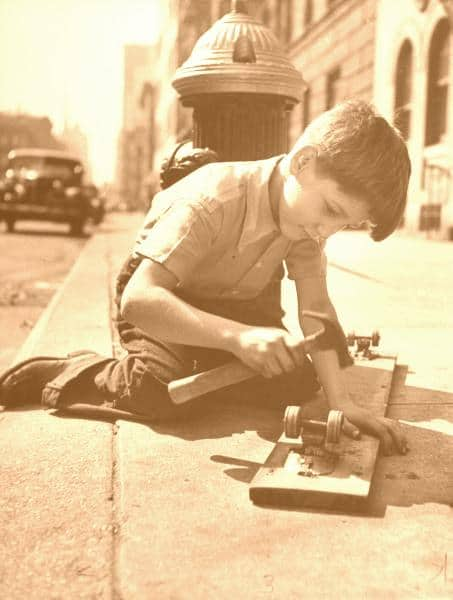 Commitment-small-boy-playing-light