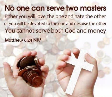 Mathew 6:24 – Goldthwaite