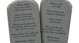 Ten Commandments - Goldthwaite