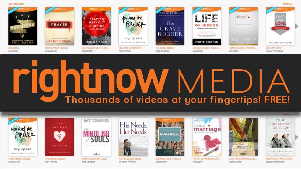 RightNow Media digital library