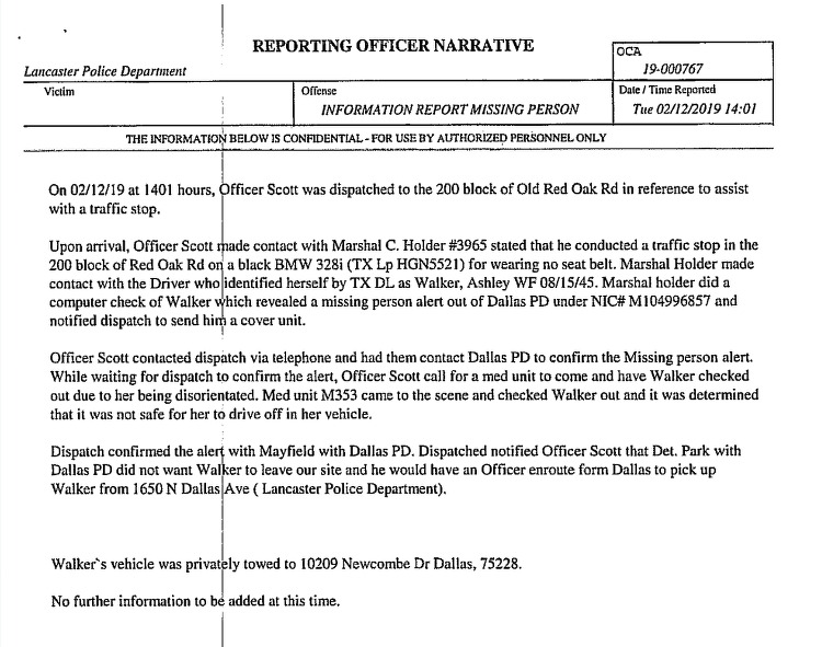Reporting Officer Cecil Holder Narrative – EnFellowship Magazine